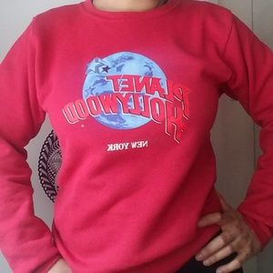 VTG Planet Hollywood New York Full Moon Sweatshirt